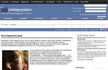 http://www.cafepedagogique.net/lexpresso/Pages/2012/04/02042012_Uneinspectriceparle.aspx