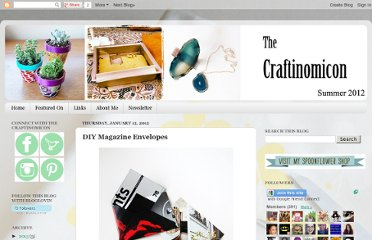 http://craftinomicon.blogspot.com/2012/01/diy-magazine-envelopes.html