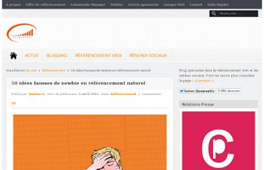 http://www.ya-graphic.com/2012/04/50-idees-fausses-de-newbie-en-referencement-naturel-151/