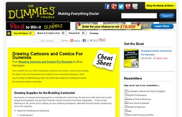 http://www.dummies.com/how-to/content/drawing-cartoons-and-comics-for-dummies-cheat-shee.html