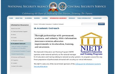 http://www.nsa.gov/ia/academic_outreach/index.shtml