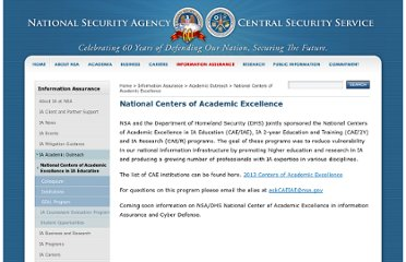 http://www.nsa.gov/ia/academic_outreach/nat_cae/index.shtml