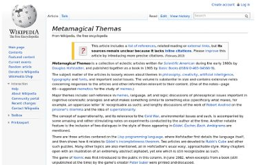 http://en.wikipedia.org/wiki/Metamagical_Themas
