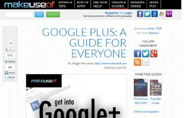 http://www.makeuseof.com/pages/get-into-google-a-guide-for-everyone