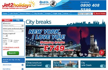 http://www.jet2holidays.com/city-breaks.aspx