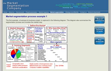 http://www.marketsegmentation.co.uk/segmentation_process_eg_tmsc.htm