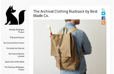 http://www.thefoxisblack.com/2010/07/26/the-archival-clothing-rucksack-by-best-made-co/