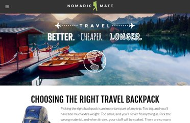 http://www.nomadicmatt.com/travel-tips/choosing-the-right-backpack/