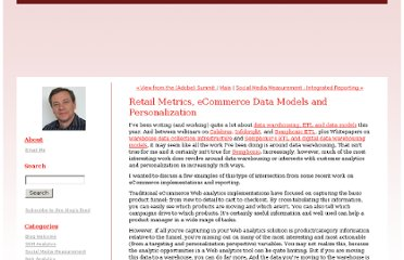 http://semphonic.blogs.com/semangel/2012/03/retail-metrics-ecommerce-data-models-and-personalization.html