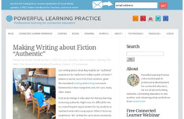 http://plpnetwork.com/2012/04/02/making-writing-about-fiction-authentic/