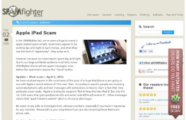 http://blog.spamfighter.com/software/apple-ipad-scam.html