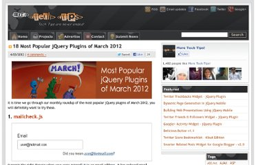 http://www.moretechtips.net/2012/04/18-most-popular-jquery-plugins-of-march.html