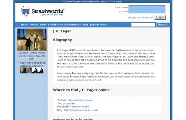http://www.smashwords.com/profile/view/jpyager