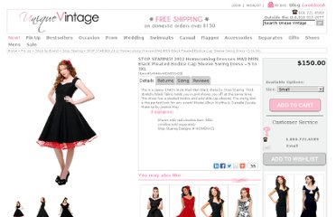 http://www.unique-vintage.com/stop-staring-black-pleated-bodice-sleeve-swing-dress-p-7804.html