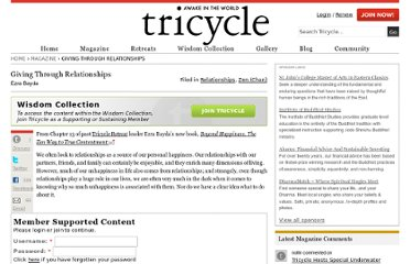 http://www.tricycle.com/living-world/relationships/giving-through-relationships