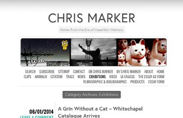 http://www.chrismarker.org/category/exhibitions/