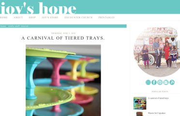 http://www.joyshope.com/2010/06/carnival-of-tiered-trays.html