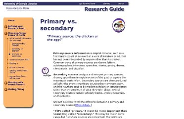 http://www.libs.uga.edu/researchcentral/choosing/what/primary.html