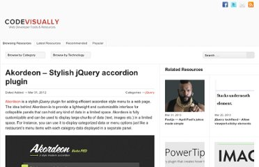 http://codevisually.com/akordeon-stylish-jquery-accordion-plugin/
