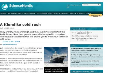 http://sciencenordic.com/klondike-cold-rush