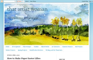 http://www.thatartistwoman.org/2012/04/how-to-make-paper-easter-lilies.html