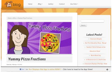 http://blog.tpet.co.uk/posts/christina/yummy-pizza-fractions/