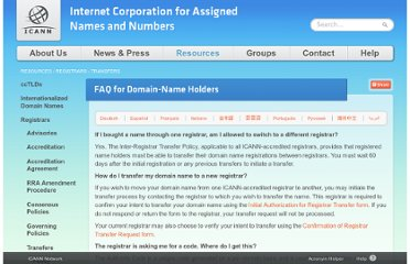 http://www.icann.org/en/resources/registrars/transfers/name-holder-faqs