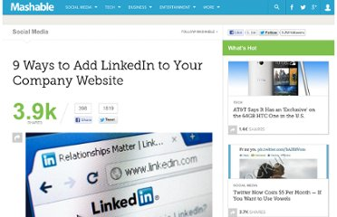 http://mashable.com/2012/04/03/linkedin-website-plugins/