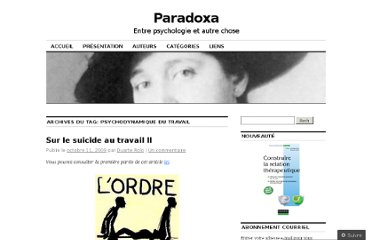 http://paradoxa1856.wordpress.com/tag/psychodynamique-du-travail/