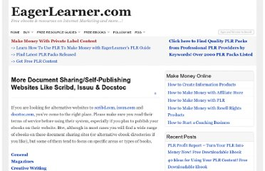 http://www.eagerlearner.com/more-document-sharingself-publishing-websites-like-scribd-issuu-docstoc/