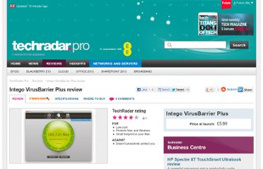http://www.techradar.com/reviews/pc-mac/software/utilities/anti-malware-software/intego-virusbarrier-plus-963078/review