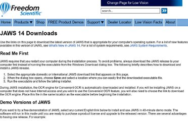 http://www.freedomscientific.com/downloads/jaws/jaws-downloads.asp