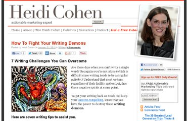 http://heidicohen.com/writing-challenges-you-can-overcome/