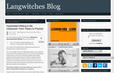 http://langwitches.org/blog/2012/04/03/hyperlinked-writing-in-the-classroom/
