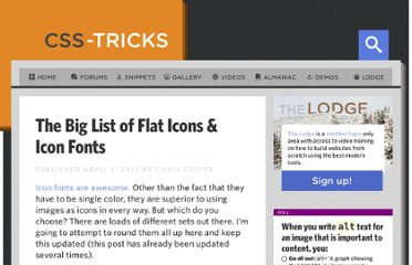 http://css-tricks.com/flat-icons-icon-fonts/