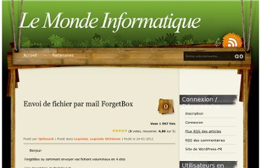 http://www.le-monde-informatique.com/wordpress/archives/2751