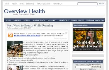 http://www.overviewhealth.com/best-ways-to-breath-while-running/