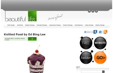 http://www.beautifullife.info/art-works/knitted-food-by-ed-bing-lee/