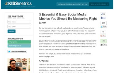 http://blog.kissmetrics.com/essential-social-media-metrics/