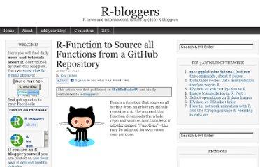 http://www.r-bloggers.com/r-function-to-source-all-functions-from-a-github-repository/