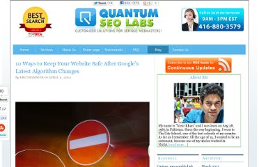 http://www.quantumseolabs.com/blog/seolinkbuilding/10-ways-website-safe-googles-latest-algorithm/