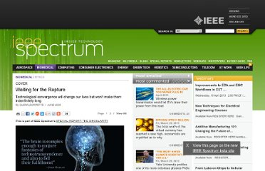 http://spectrum.ieee.org/biomedical/ethics/waiting-for-the-rapture/0