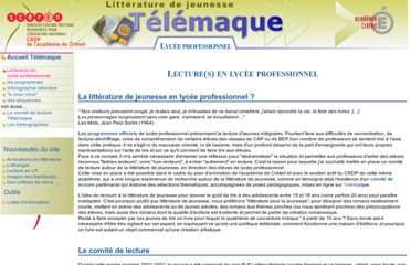 http://www.cndp.fr/crdp-creteil/telemaque/LP/introduction.htm
