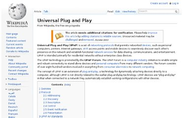 http://en.wikipedia.org/wiki/Universal_Plug_and_Play#Lack_of_authentication