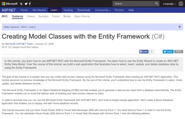 http://www.asp.net/mvc/tutorials/older-versions/models-(data)/creating-model-classes-with-the-entity-framework-cs