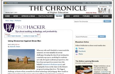 http://chronicle.com/blogs/profhacker/using-xtranormal-against-straw-men/39348
