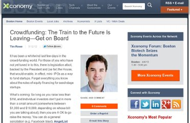 http://www.xconomy.com/boston/2012/03/12/crowdfunding-the-train-to-the-future-is-leaving-get-on-board/