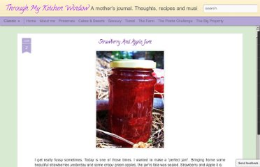 http://thrumykitchenwindow.blogspot.com/2009/06/strawberry-and-apple-jam.html