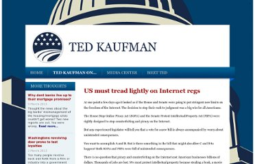 http://www.tedkaufman.com/ted_kaufman_on/us-must-tread-lightly-on-internet-regs