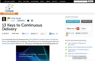 http://dotnet.dzone.com/articles/13-keys-continuous-delivery